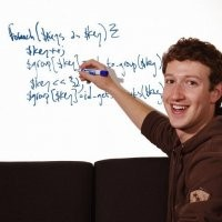 L'autografo di Mark Zuckerberg