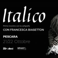 Workshop di calligrafia - L'italico, con Francesca Biasetton