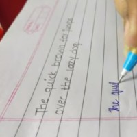 9 important tips to improve your handwriting